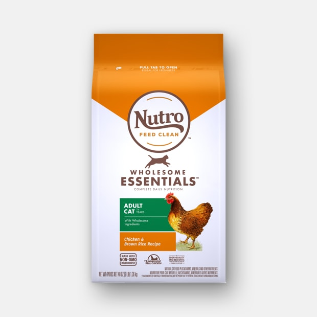 Nutro Wholesome essential chicken cat food