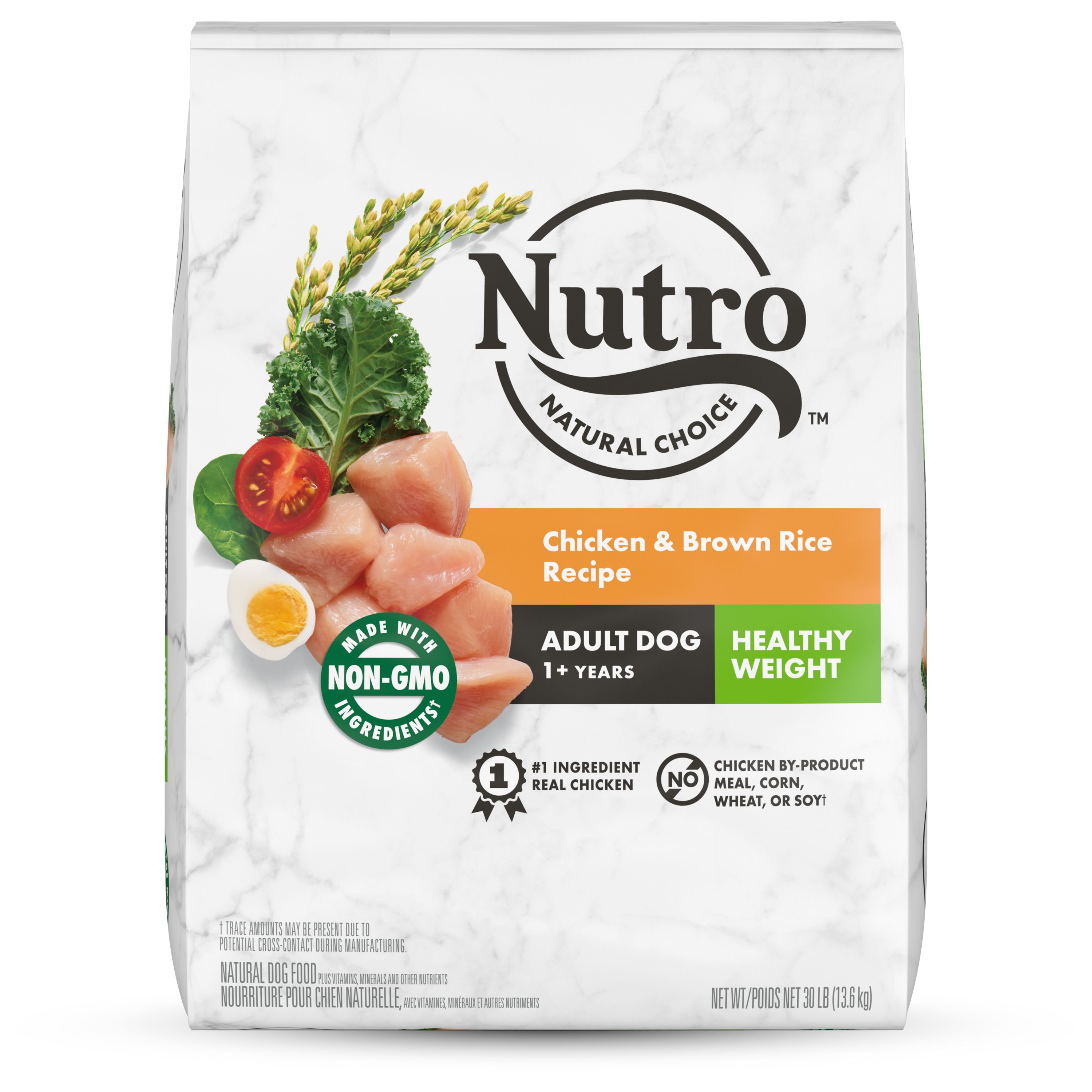 NUTRO™ NATURAL CHOICE™ Healthy Weight Adult Dry Dog Food, Chicken & Brown Rice Recipe Dog Kibble