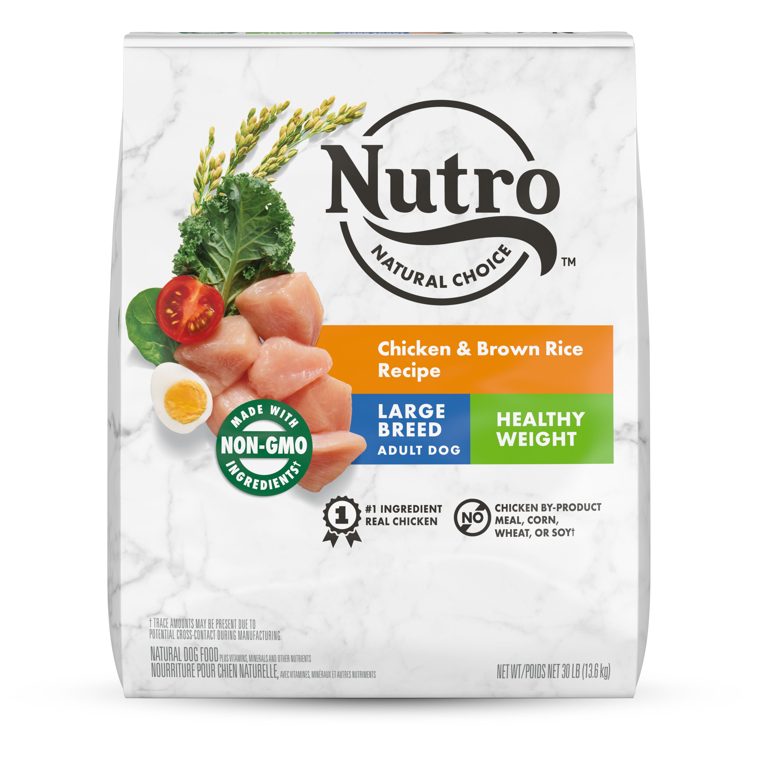 Natural Choice large breed healthy weight adult chicken and brown rice