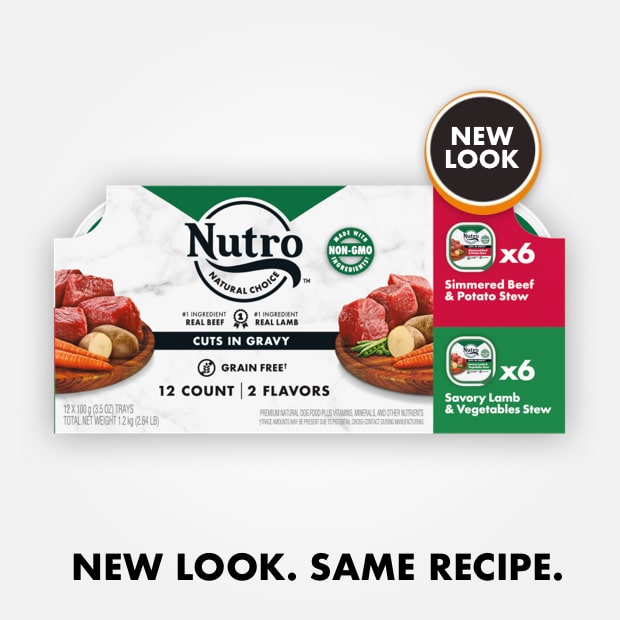 Nutro Cuts in Gravy Beef and Lamb Variety Pack
