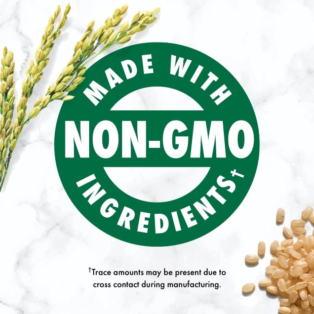 "nutro post that sais ""made with non-gmo ingredients"" with brown rice"