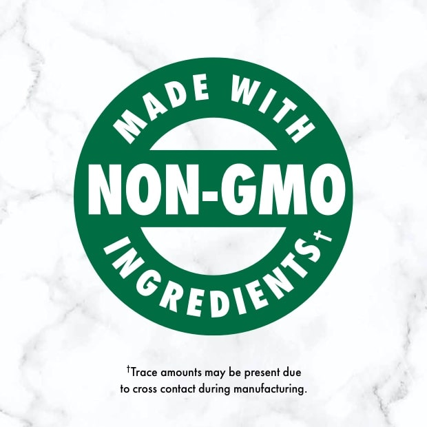 "nutro post that sais ""made with non-gmo ingredients"""