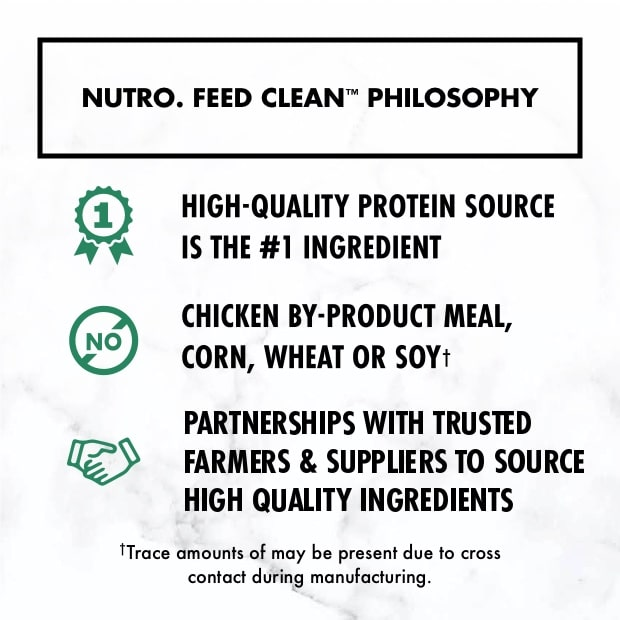 nutro feed clean philosophy poster