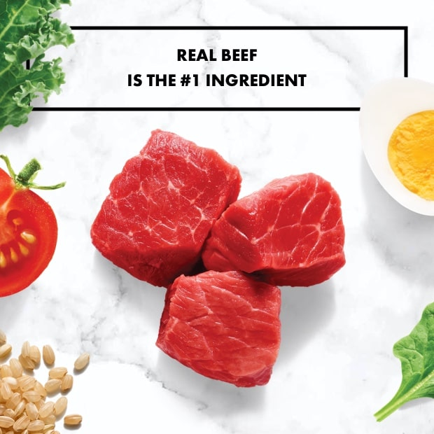 beef on marble background